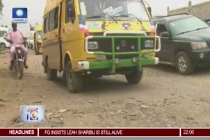 Lagos Abeokuta Road In State Of Disrepair