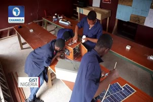 Four Nigerian Teenagers Invent Solar Panel