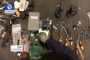 Team Of Nigerian Engineers Manage E-Waste