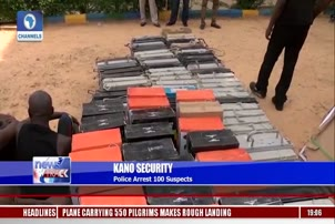 Police Arrest 100 Suspects
