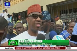 Gov Abiodun Lauds Tribunal's Verdict, Promises Better Governance