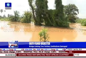 One Drowns As Flood Destroys Bridge In Ekiti