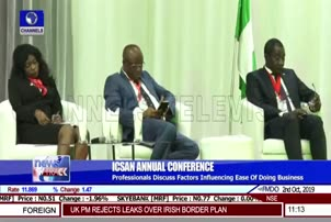 Professionals Discuss Factors Affecting Ease Of Doing Business In Nigeria
