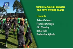 Falcons Battle Cote D'ivoire In Abidjan