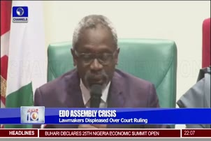 Lawmakers Unhappy With Court Ruling On Edo Assembly