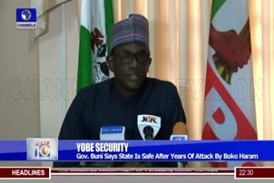 Yobe Is Safe After Years Of BH Attack Buni