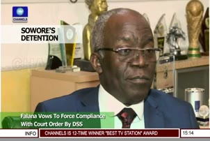 Falana Vows To Force Compliance With Court Order By DSS