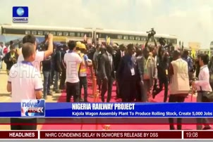 Osinbajo Performs Ground Breaking Ceremony For Train Wagon Assembly Plant In Ogun