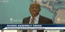 GOV. AMAECHI OPENS UP ON RIVERS CRISIS