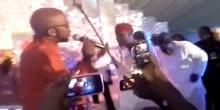 Banky W Performance at Peter Okoye wedding
