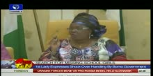 Chibok Girls - First Lady Breaks Down In Tears