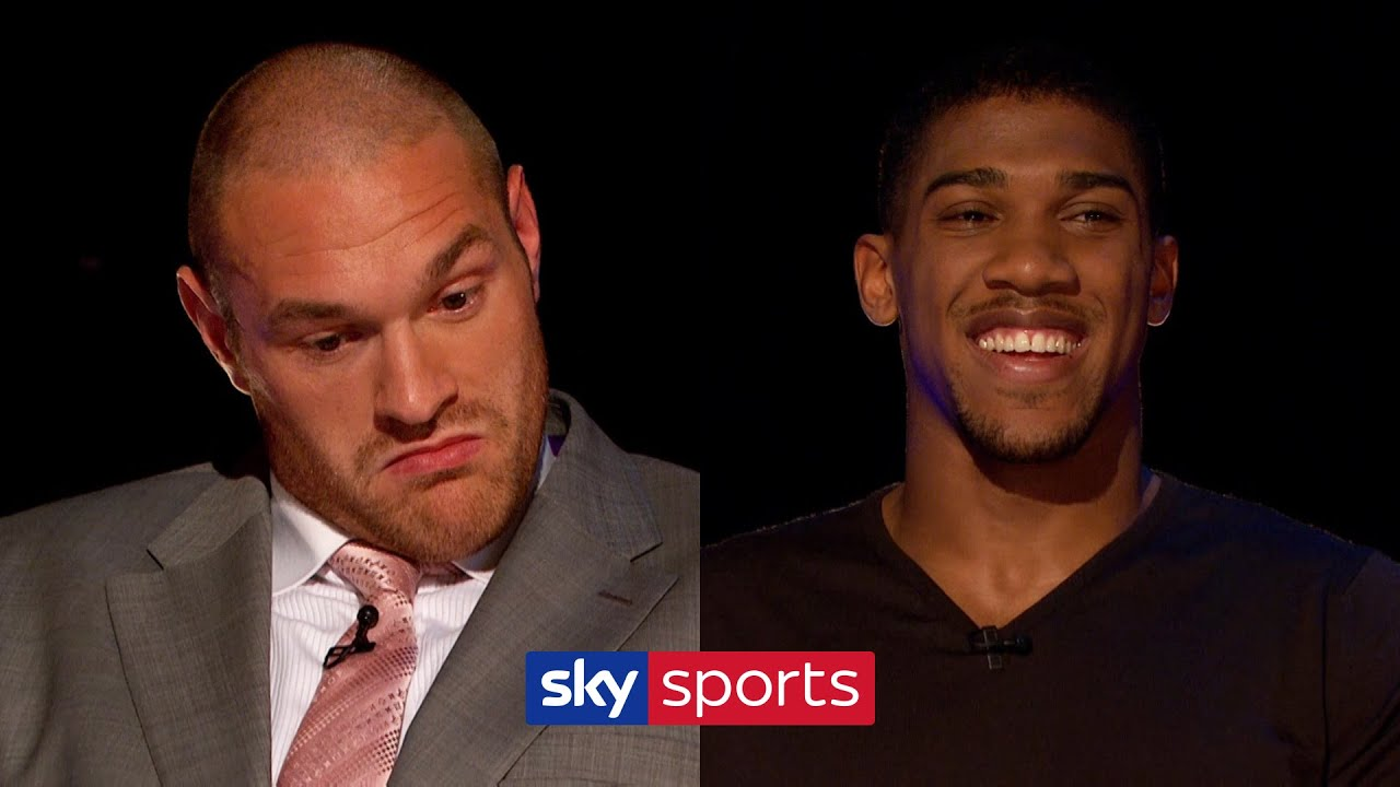 Anthony Joshua Gives Tyson Fury Some Boxing Advice