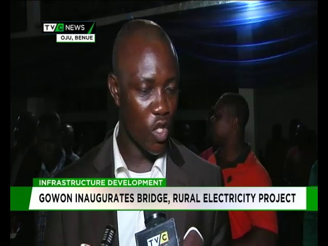 Gowon Inaugurates Bridge, Rural Electricity Project in Benue