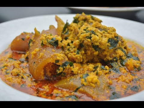 How to make Nigerian Egusi soup