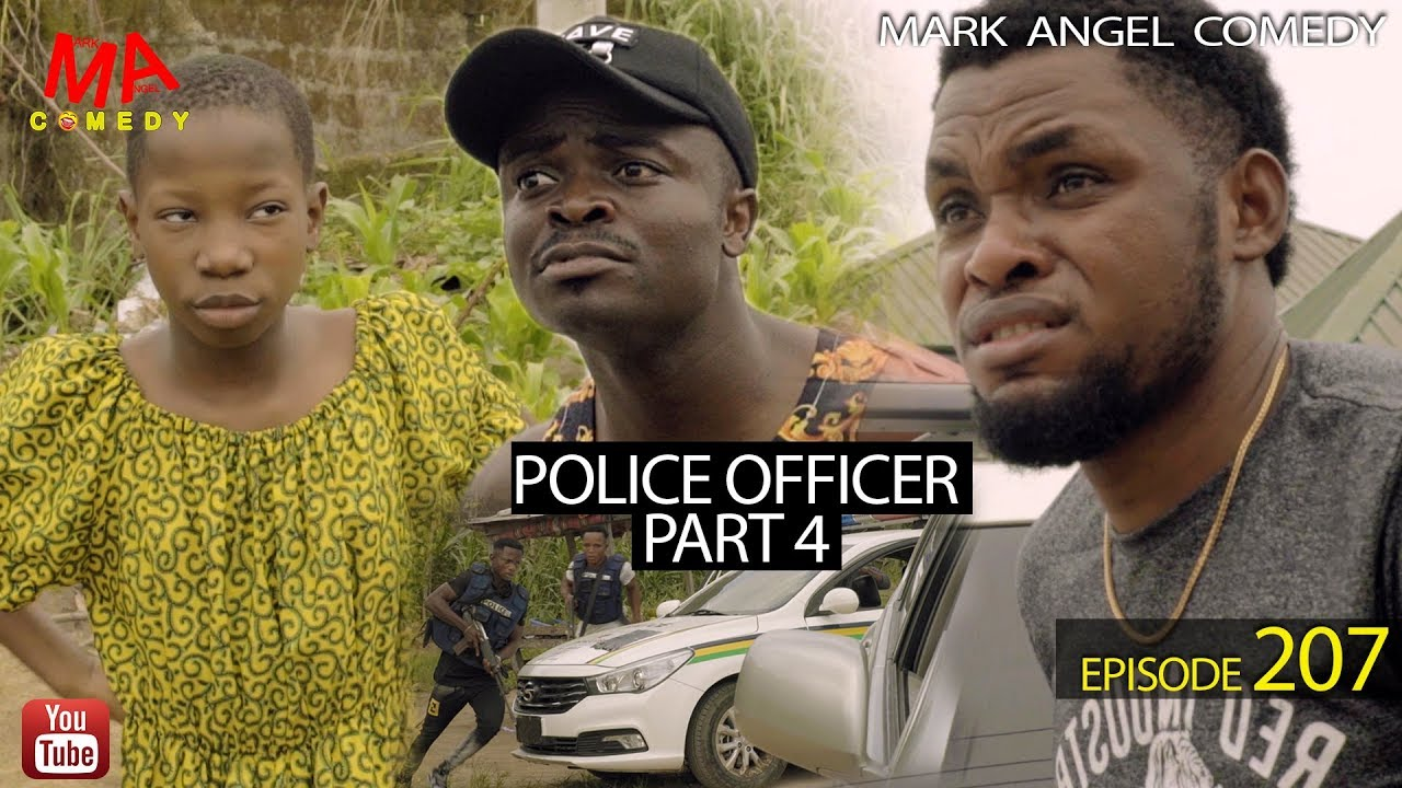 Mark Angel Comedy - POLICE OFFICER part 4