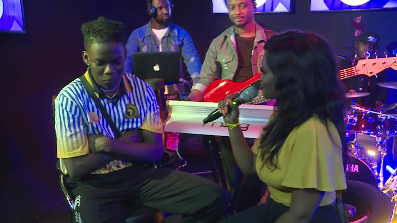 Rema (and Rachel) Performing 'Corny' at the Soundcity 98.5 Live Sessions