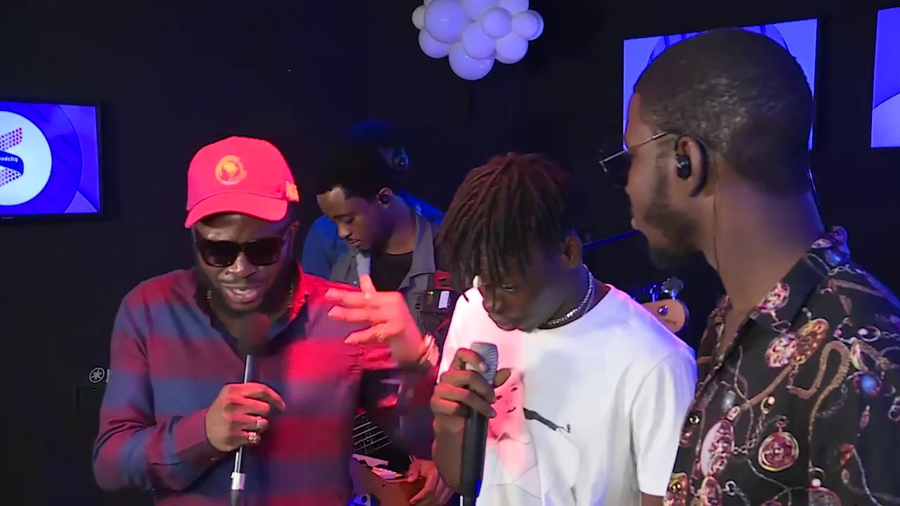 Fireboy DML on Respect for WandeCoal; Performs 'Jealous,' 'What If I Say' on Soundcity Live Sessions