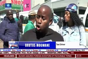 Nigerians Protest Outside Embassy In Pretoria