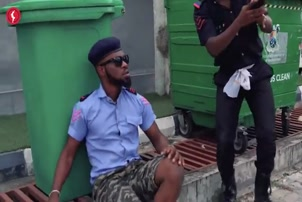 Broda Shaggi - YAHOO BOY VS POLICE FORCE