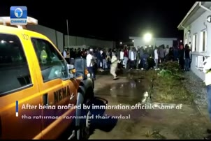 'You Can't Toy With Nigeria': 315 More Nigerians Return Home