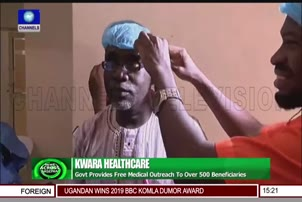 Govt Provides Free Medical Outreach To Over 500 Beneficiaries In Kwara