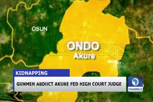 Gunmen Abduct Akure Fed High Court Judge
