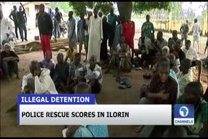 Police Discover Illegal Rehabilitation Centre In Ilorin