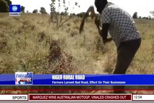 Farmers Lament Bad Road, Effect On Their Businesses