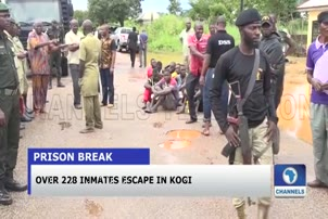 Over 228 Inmates Escape In Kogi