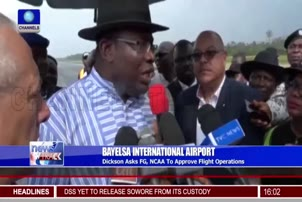 Dickson Wants FG To Approve Flight Operations At Bayelsa International Airport