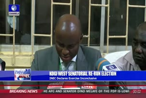Kogi West Senatorial Rerun: INEC Declares Election Inconclusive