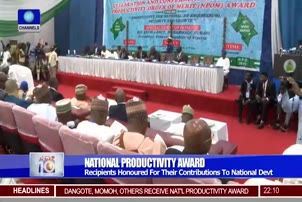Dangote, Momoh, Others Honoured By FG In Abuja