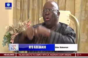 Adebanjo Says NASS Constitution Amendment Won't Work