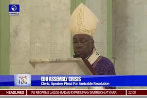 Cleric Speaker Plead For Amicable Resolution