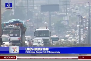 Lagos-Ibadan Road: FG Reopen Berger End Of Expressway