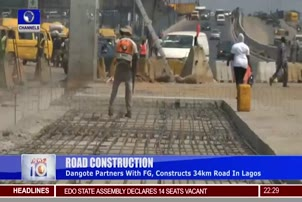 Dangote Partners With FG, Constructs 34km Road In Lagos