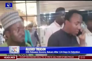 DSS Releases Sowore, Bakare After 124 Days In Detention
