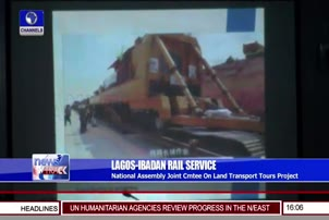 National Assembly Committee Tours Lagos Ibadan Rail Project