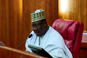 Buhari Asks Senate To Confirm Adamu As AMCON Chairman