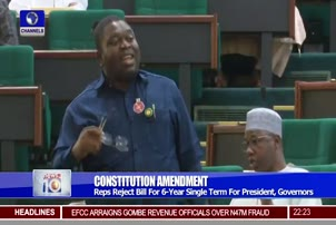 Reps Reject Bill For 6 Year Single Term For President, Governors