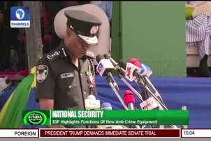 IGP Highlights Functions Of New Anti Crime Equipment