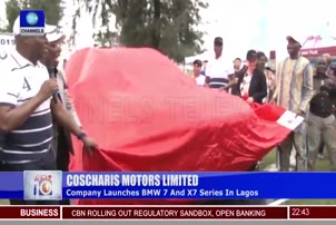 Coscharis Launches BMW 7 And X7 Series In Lagos