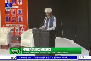 Soyinka, Others Ask Nigerians To Learn From Civil War