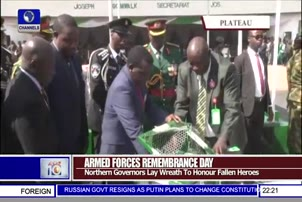 Northern Governors Lay Wreath To Honour Fallen Heroes