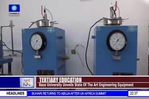 Baze University Unveils State Of The Art Engineering Equipment