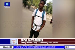 Family Mourns Killing Of Student By BH