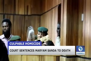 Court Sentences Maryam Sanda To Death