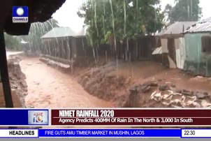 NIMET Predicts 400MM Of Rain In The North, 3,000 In The South