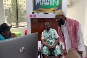 ALHAJI MUSA FINALLY MEETS DON JAZZY