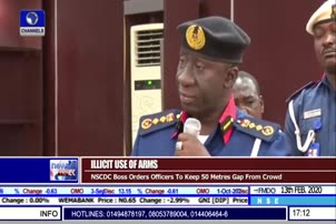'Keep 50 Meters Gap From Crowd', NSCDC Boss orders Arm Bearing Officers